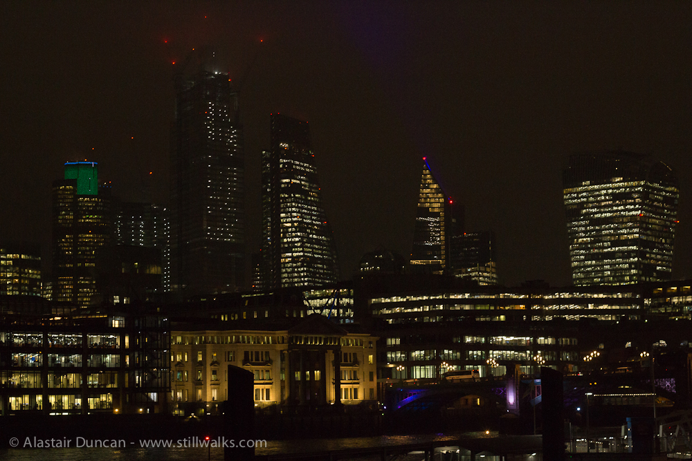 London night lights