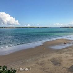 South Beach and Caldey Island