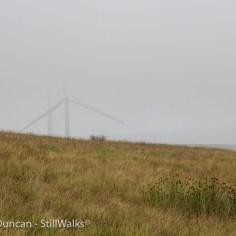 mist and turbines