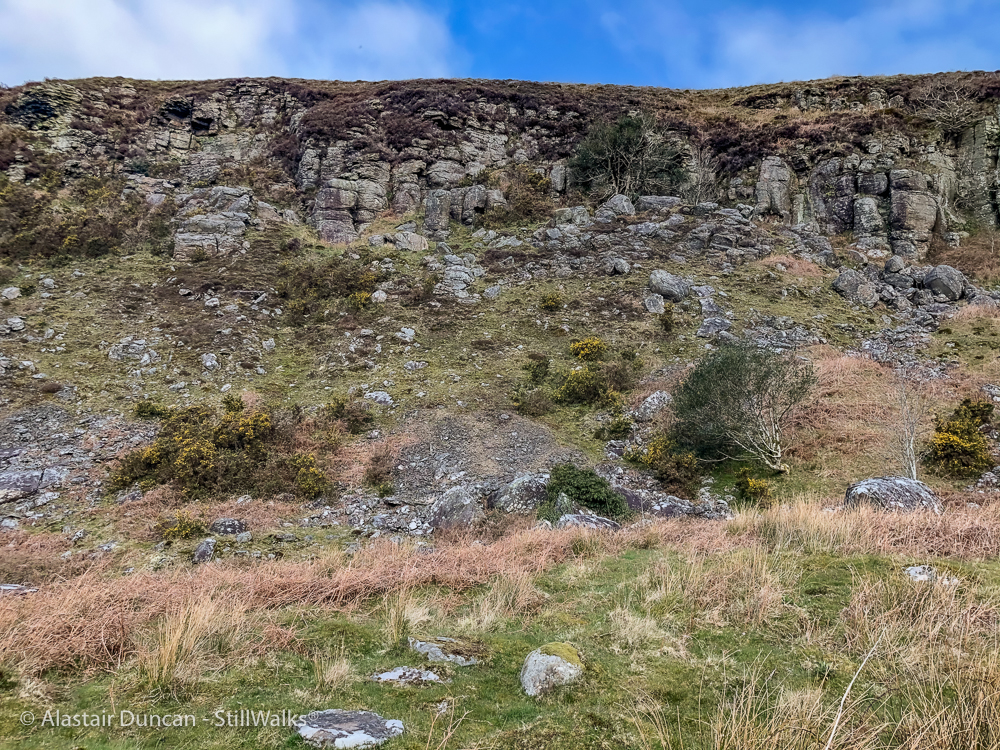 Twyn Tyle escarpment 1
