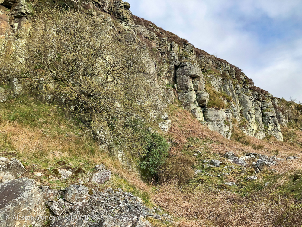 Twyn Tyle escarpment 5