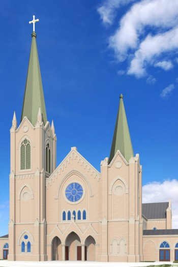 St. Francis Xavier Rendering