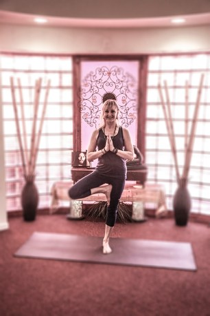 Waleah Norton has created a warm, welcoming environment at her Yoga Studio. 500