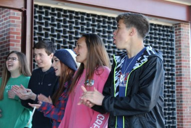 """""""Few things compare to the first day of SMAC Week, where students are cheering at the doors to get everyone excited for the annual week-long charity event."""""""