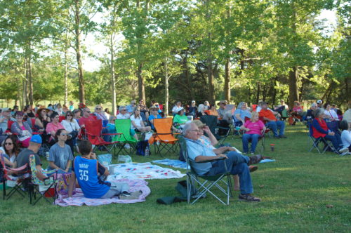 Audience members are encouraged to bring their lawn chairs and enjoy the concerts in the beautiful surroundings of The Botanic Garden at OSU.