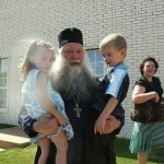 Photo:  Kids of St Nino With Our Archbishop Peter