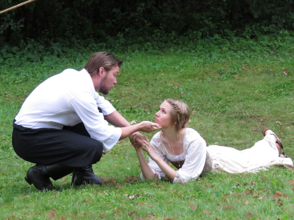 """A scene from Zephyr Theatre's 2017 outdoor production, """"A Midsummer Night's Dream."""" This year's show will be """"Twelfth Night,"""" performed at the Bayport Marina Aug. 9-14. Jackie Bussjaeger/Press Publications"""