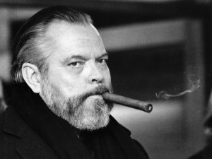 Producer, writer and director Orson Welles.