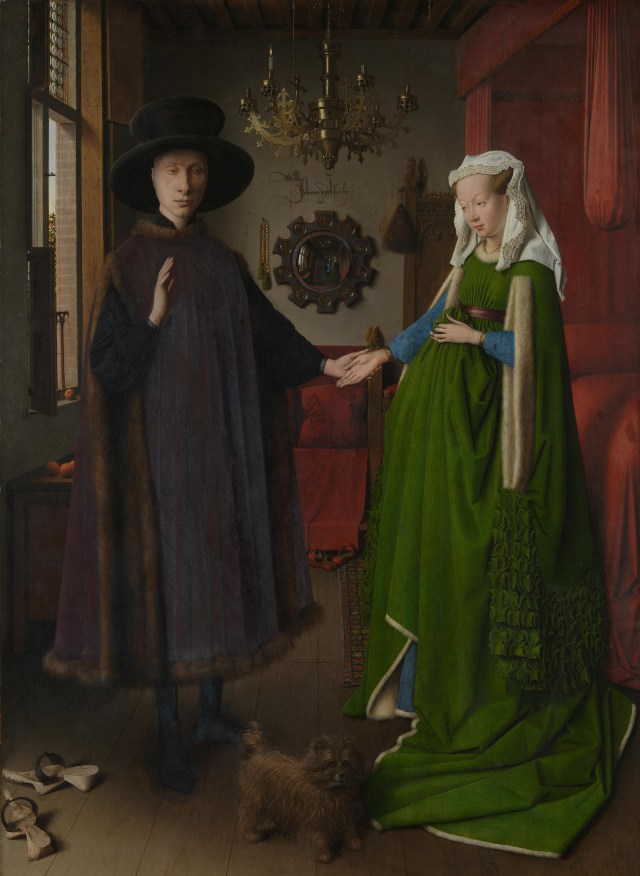 Full title: The Arnolfini Portrait Artist: Jan van Eyck Date made: 1434 Source: http://www.nationalgalleryimages.co.uk/ Contact: picture.library@nationalgallery.co.uk Copyright © The National Gallery, London