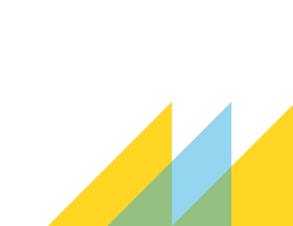 Decorative triangles