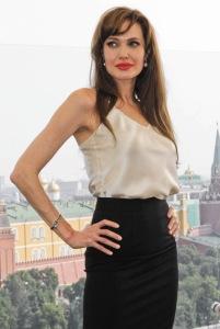 Die Schauspielerin Angelina Jolie, Mikhail Popov (Михаил Попов, http://thebestphotos.ru/)