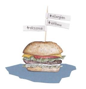 Grafik: Burger, Bild: Eva Künzel