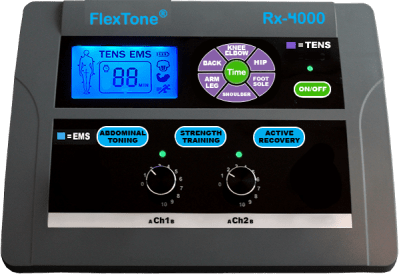 FlexTone 4000 Muscle stimulator