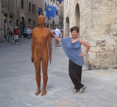 My Mom with her new Italian boyfriend in Tuscany...one of the 34 different countries she has visited over the course of her life.