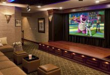 High end home theater system.
