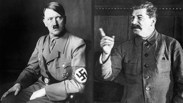 Adolph Hitler & Joseph Stalin