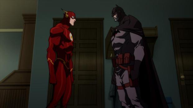 Justice-League-The-Flashpoint-Paradox Batman Flash Stimulated Boredom