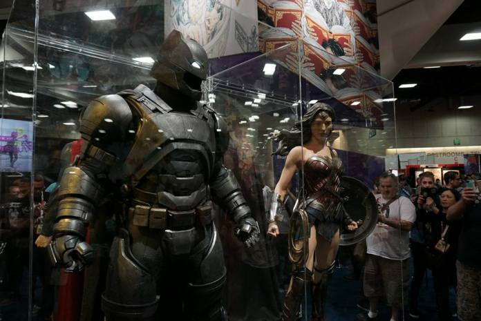 Batman Armored Suit @ SDCC 2015