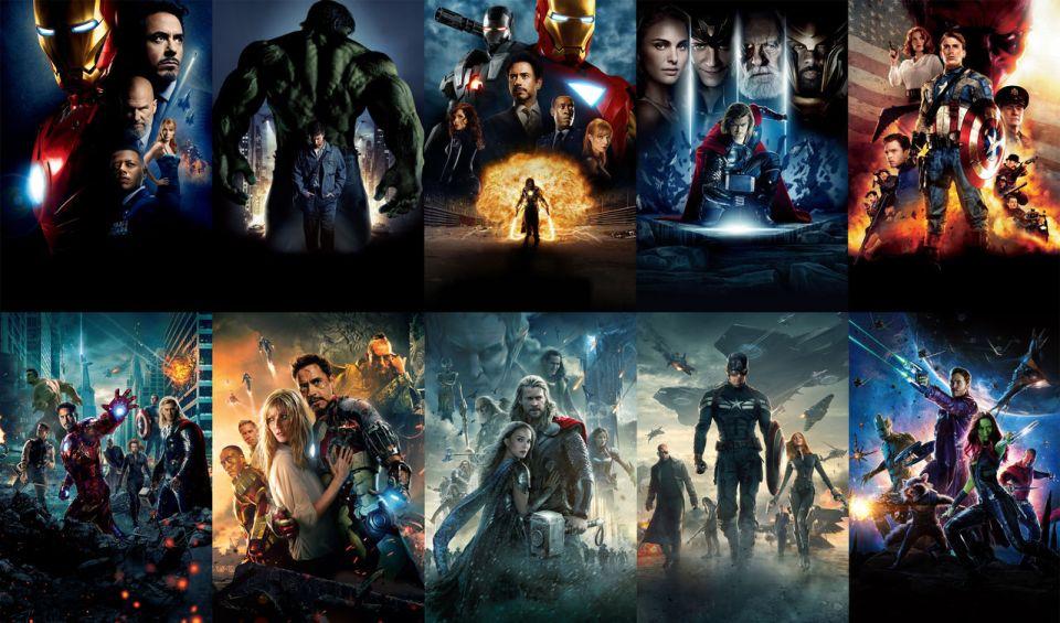 Marvel Cinematic Universe Stimulated Boredom 1
