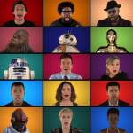 "Jimmy Fallon, The Roots and ""Star Wars: The Force Awakens"" Cast Sing Star Wars Medley Together"