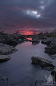 Sunrise at Blue Mounds State Park