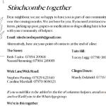 Stinchcombe Together leaflet