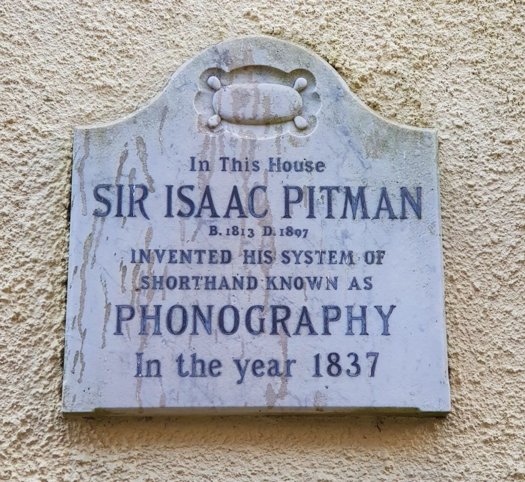 Pitman Plaque