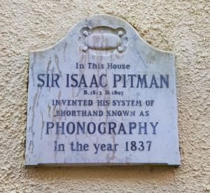 Pitman Plaque