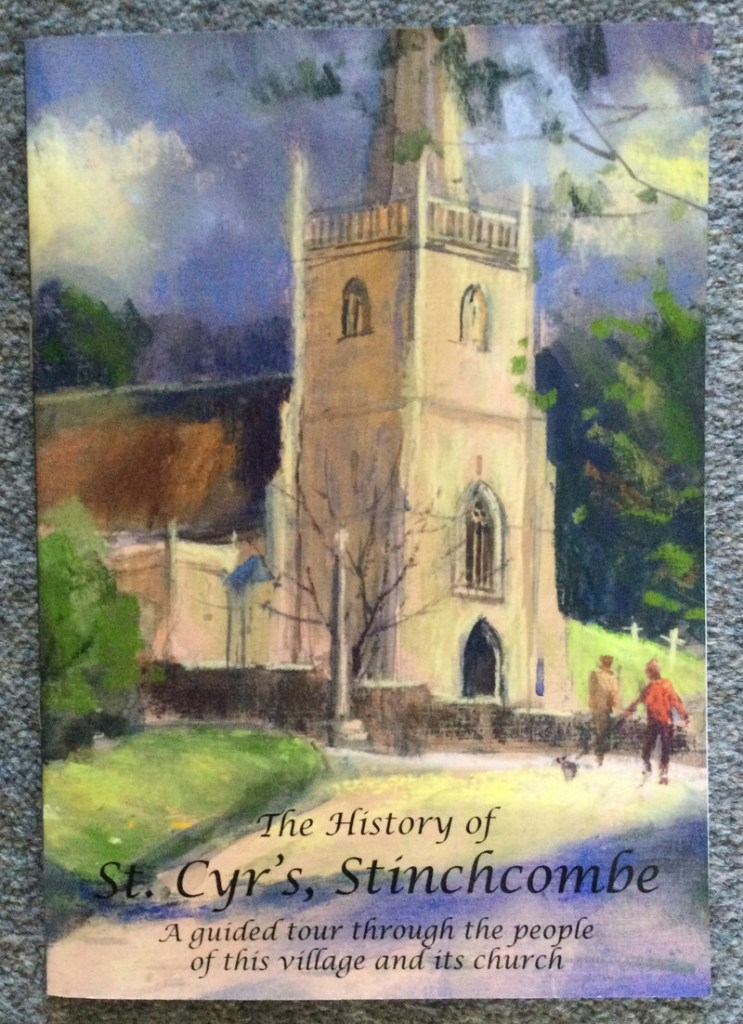 Front cover of brochure about the history of St Cyr's