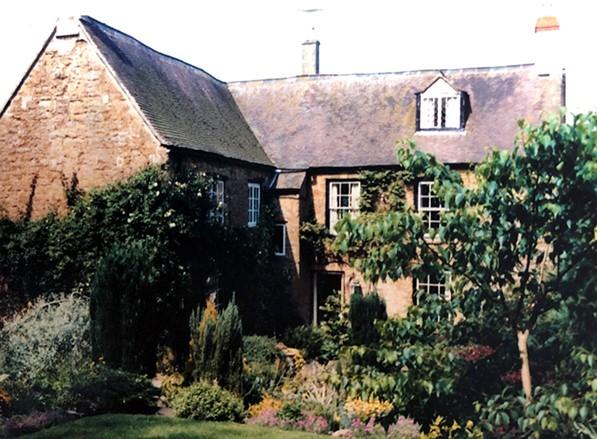 Lamport Court Garden 1970