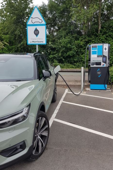 charging in morrisons