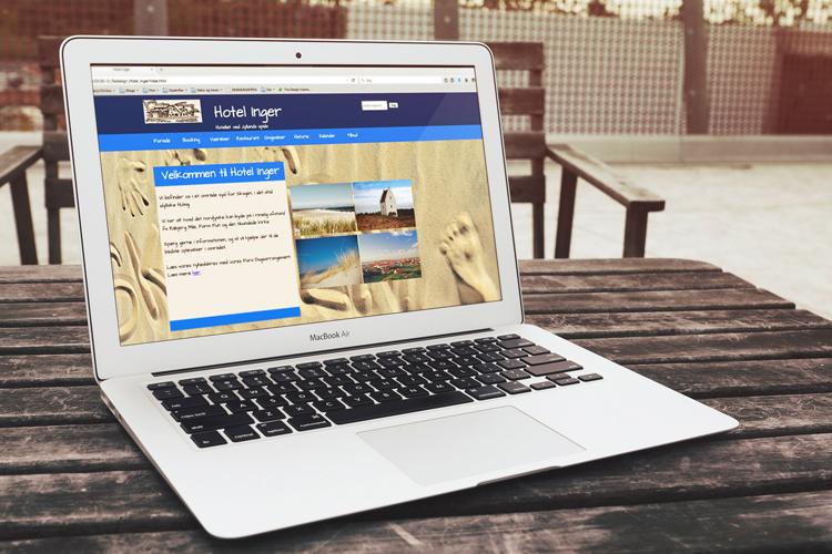 Hjemmeside - Hotel Inger