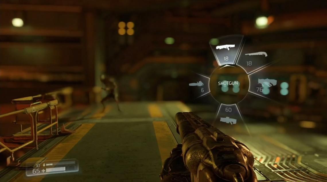 Doom Weapon Wheel
