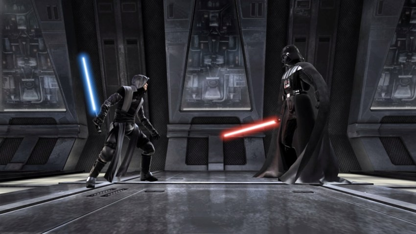 Starkiller versus Vader