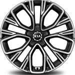 kia stinger 18 and 19 inch wheel design
