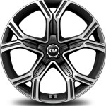 kia stinger 18 and 19 inch wheel design