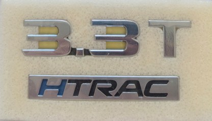 3.3T HTRAC v6 turbo badge