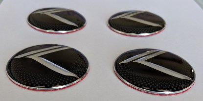 stinger wheel center caps