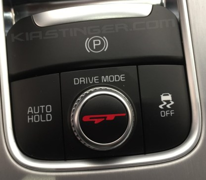 gt drive mode dial decal in red
