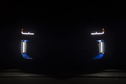 kia stinger led foglights ck71 drls