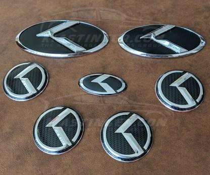 kia stinger klexus kia 3.0 badges