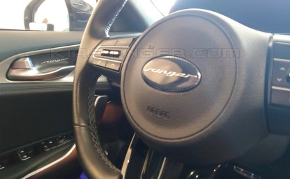 kia stinger steering wheel and door handle cover