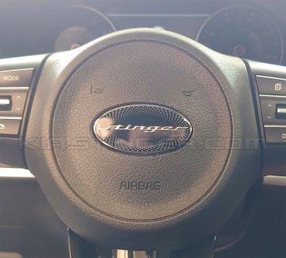 kia stinger steering wheel