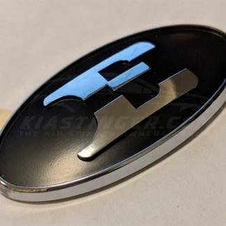 stinger e steering wheel badge emblem