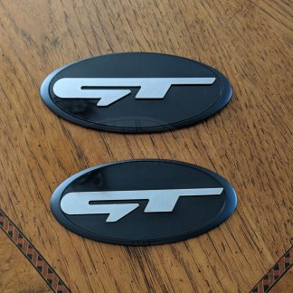 gt hood and hatch badge emblem for kia stinger
