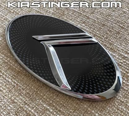 chrome vintage k badges emblems for kia stinger