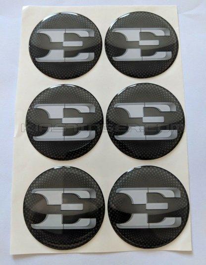 e wheel cap overlays for kia stinger