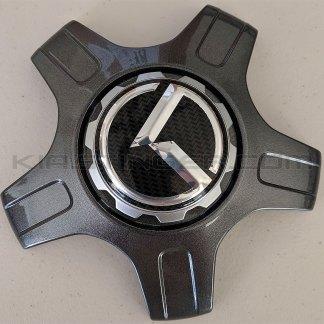 kia 3.0 klexus carbon fiber wheel center caps