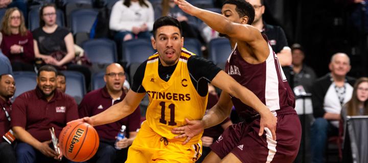Stingers.ca | Stingers men's basketball team eliminated at Final 8