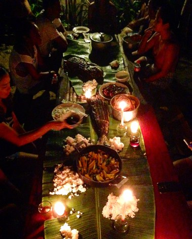 Boodle fight!